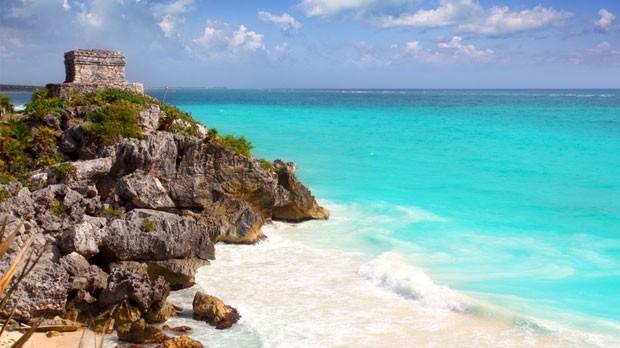 Runas Mayas nas praias de Tulum (Foto: Divulgao)