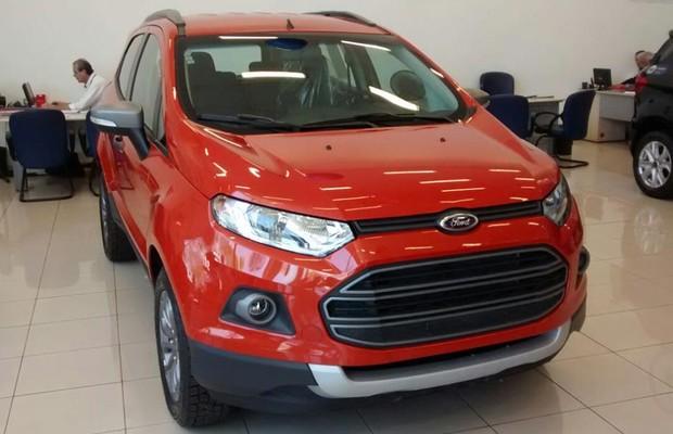 Ford Ecosport Freestyle 2015 (Foto: Autoesporte)