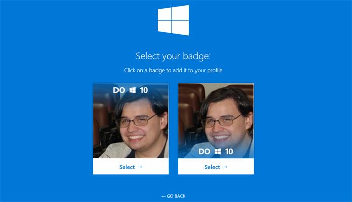 Twibbon oferece duas versões de foto para usuários (Foto: Reprodução/Twibbon)