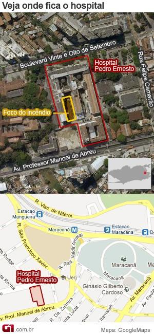 Mapa Pedro Ernesto (Foto: Arte G1)