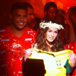 Ronaldo e Megan Fox (Foto: Reprodução/Instagram)