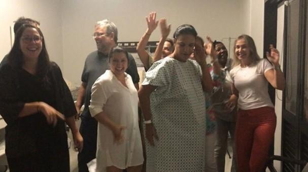 Ivete Sangalo e família (Foto: Reprodução/Instagram)