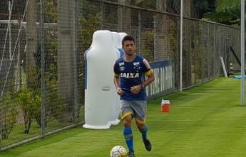Recuperado, Robinho comemora chance de estrear contra o Coelho