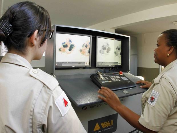 Complexo Penitenciário e Ceresp receberam escâneres corporais em Juiz de Fora (Foto: Gil Leonardi/Divulgação)