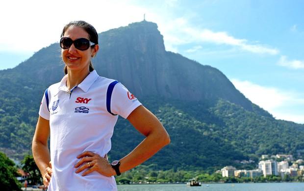 Fernanda Venturine Na Lagoa (Foto: Rafael Moraes/adorofoto)