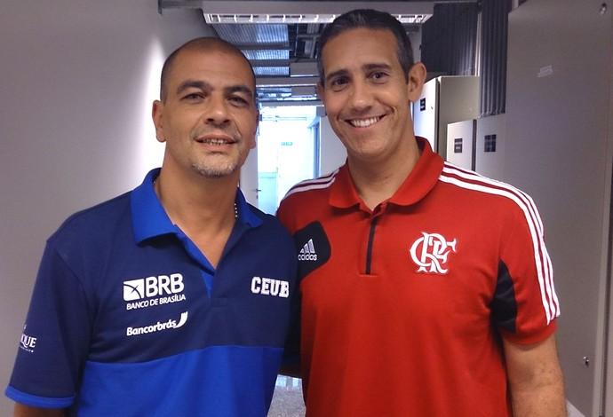 Sergio Hernandez e Jose Neto (Foto: Fabio Leme)