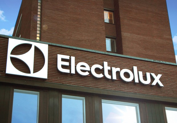 Fachada da sede da empresa Electrolux em Estocolmo (Foto: Divulgação)