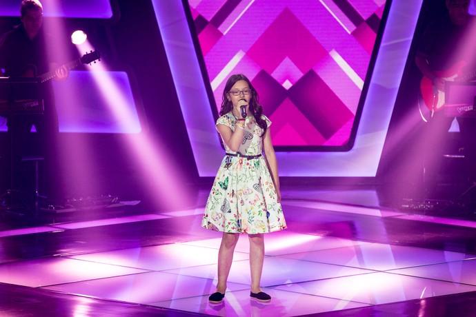 Mariana de Medeiros conquistou o público com a energia no palco (Foto: Isabella Pinheiro/Gshow)