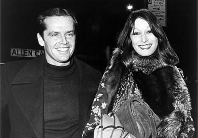 Jack Nicholson e Anjelica Huston em 1974 (Foto: Vogue Itália)
