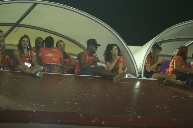 Thiaguinho e Fernanda Souza (Foto: Anderson Borde/AgNews)