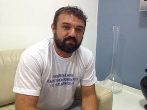 Diretor administrativo do Sinpoljuspi Kleiton Holanda (Foto: Catarina Costa/G1)