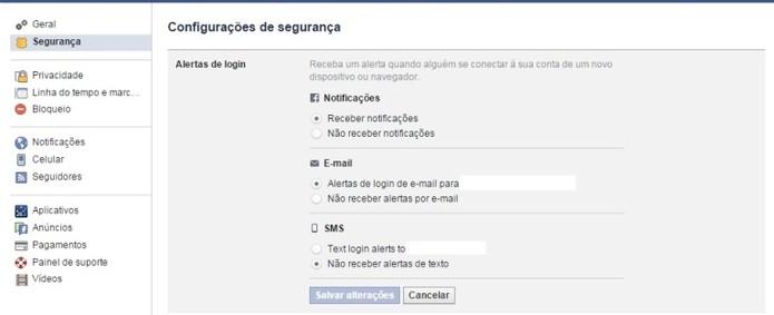 Facebook pode avisar quando alguém se conecta (Foto: Reprodução / Laura Martins)