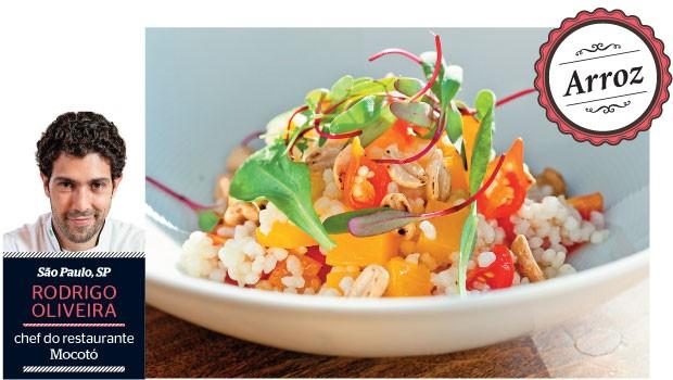 Salada de arroz com abóbora e folhas (Foto: Felipe Gombossy/ÉPOCA)