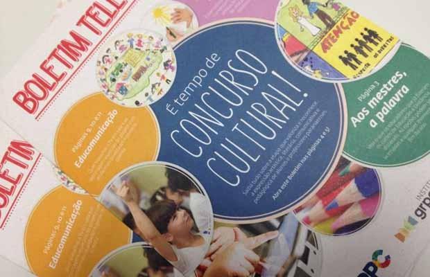 Segunda edição do Boletim Televisando. Concurso Cultural e conteúdos para qualificar ainda mais as práticas são oferecidos  (Foto: Divulgação)