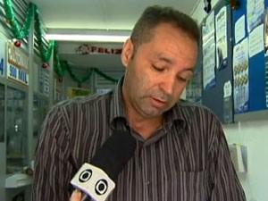 Taxista disse ter deixado de registrar dezenas sorteadas (Foto: Reprodução/TV Globo)