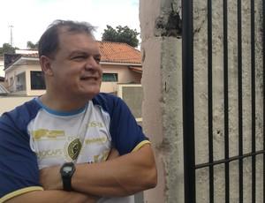 Edson Vieira técnico São Bento Sorocaba (Foto: Marcus Vinícius Souza)
