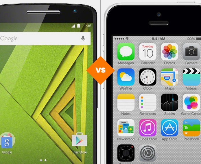 Moto X Play ou iPhone 5C: veja comparativo de especificações técnicas (Foto: Arte/TechTudo)