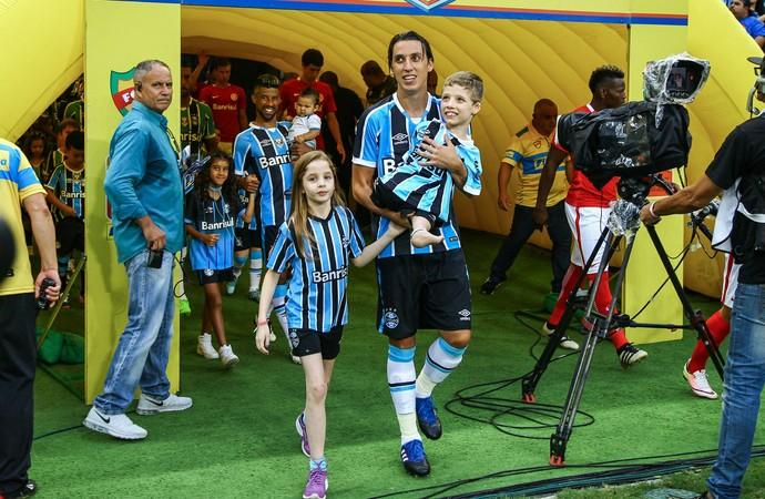 Geromel Grêmio (Foto: Lucas Uebel/Divulgação Grêmio)