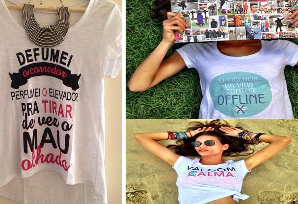 camisetas feed your soul (Foto: Reprodução / Instagram)