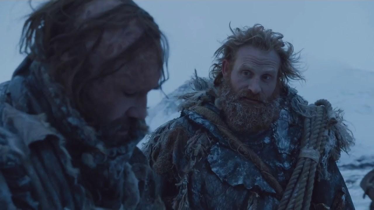 Cão de Caça e Tormund (Foto: Reprodução/ HBO)