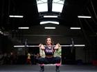Nicole Bahls mostra seu treino de crossfit para o EGO