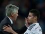 Ancelotti quer ex-comandados James e Benzema no Bayern, afirma jornal