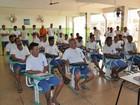 Reeducandos participam de cursos profissionalizantes em Rondônia