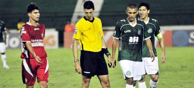 Lance do jogo entre Guarani e Boa Esporte (Foto: Rodrigo Villalba / Memory Press)