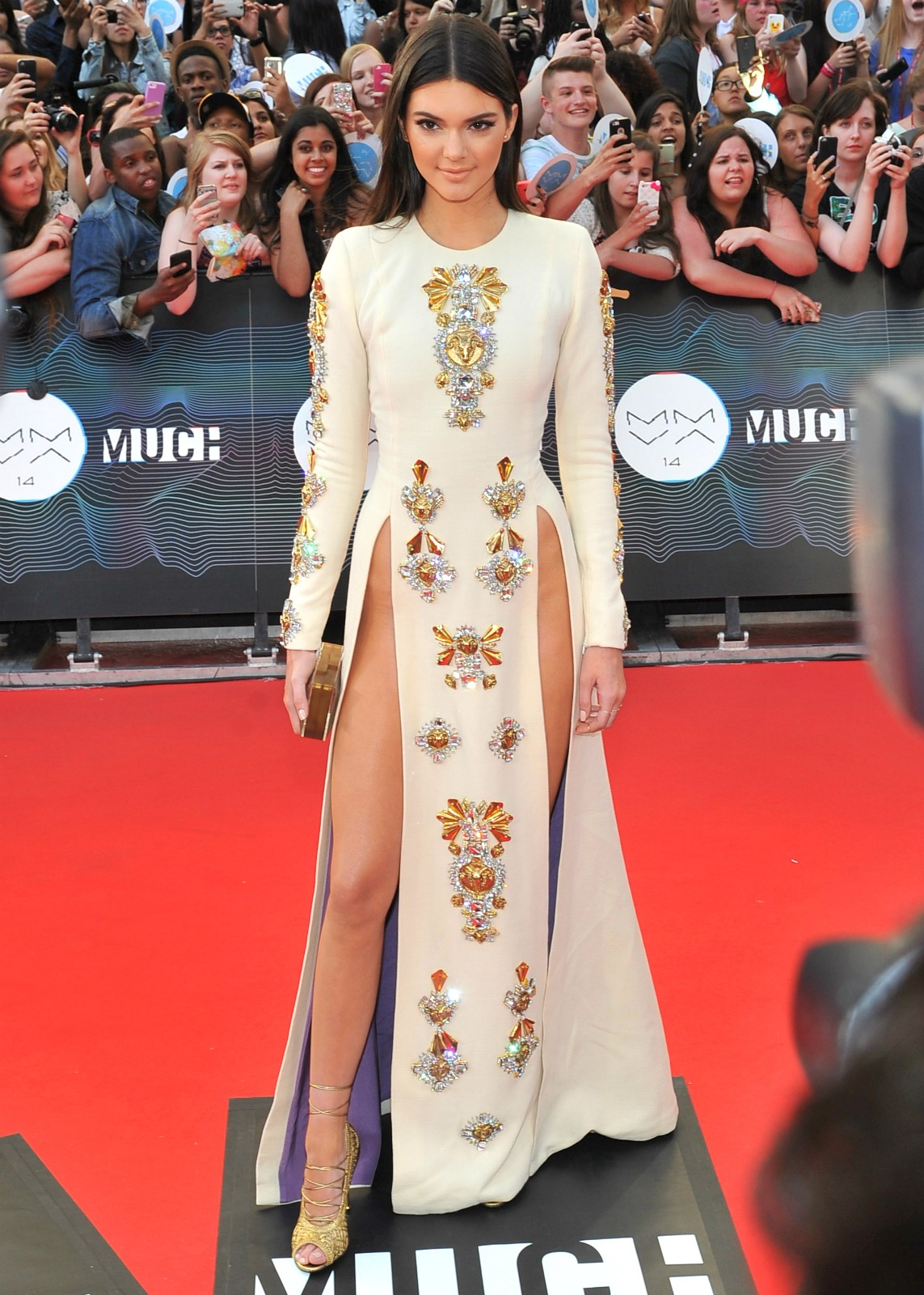 A modelo e socialite Kendall Jenner no MuchMusic Video Awards 2014. (Foto: Getty Images)