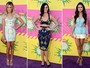 Veja o que as famosas vestiram no Kid's Choice Awards