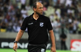 Sérgio Soares desconversa sobre time e diz que treinou diferentes opções