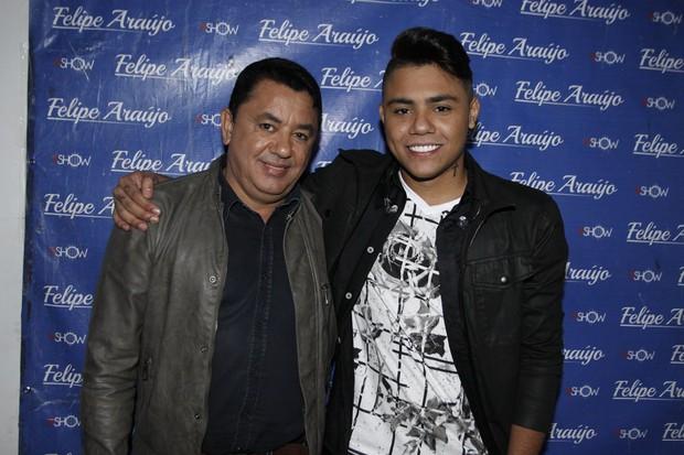 João Reis e Felipe Araújo (Foto: Celso Tavares/EGO)