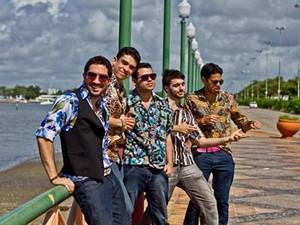 Banda completa 10 anos de carreira em 2014. (Foto: Divulgação/Faringes da Paixão)