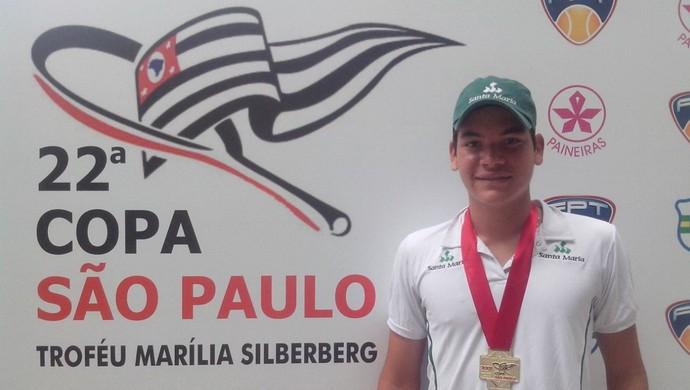Vinicius Gomes conquista ouro em diversas provas (Foto: Divulgação)
