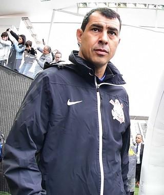 Fabio Carille Corinthians x Fluminense (Foto: Marcos Ribolli)