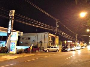 Posto de gasolina em Rio Branco (Foto: Veriana Ribeiro/G1)