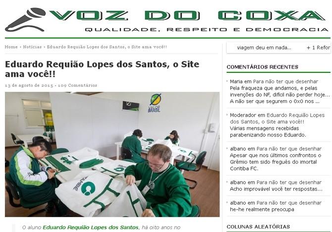 Blog Torcida Coritiba - Voz do Coxa