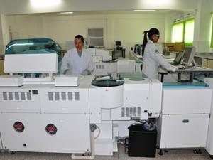 Laboratório Estadual de Patologia e Análises Clínicas foi inaugurado na sexta, 19 (Foto: Divulgação/ secom/RO)