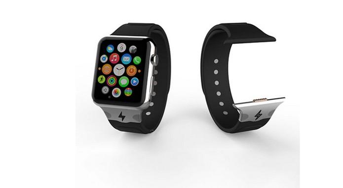 Reserve Strap promete recarregar o Apple Watch com entrada própria (Foto: Divulgação/Reserve Strap)