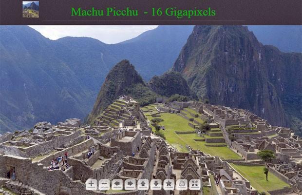 Site permite ver detalhes de Machu Picchu com imagem de 16 gigapixels  (Foto: Reprodução)