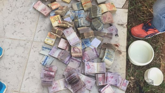 Quadrilha pode ter roubado R$ 1 milhão de agências bancárias em MG