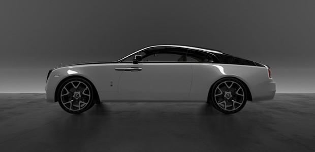 Preparadora cria peças de fibra de carbono para modelos da Rolls-Royce (Foto: Divulgação)