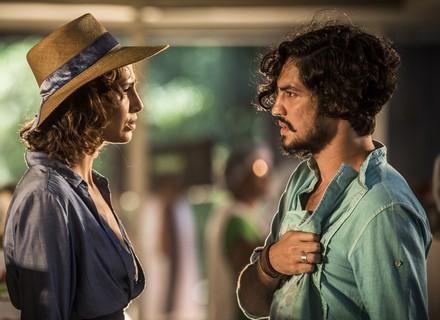 Miguel deixa Tereza em choque