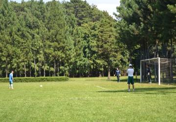 Palmeiras treina penalidades antes do confronto contra o Flamengo de Guarulhos (Foto: Angelo Tedeschi)