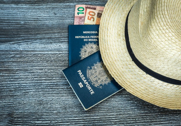 dinheiro, real, viagem, turismo, passaporte (Foto: Thinkstock)