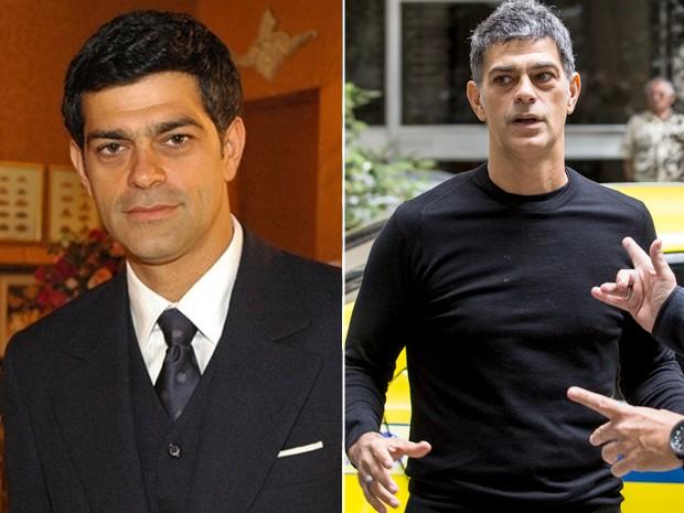 Em sua última novela, Du Moscovis fez Rafael em Alma Gêmea (2005) e estará no ar em A Regra do Jogo, que estreia em 2015 (Foto: Divulgação/ TV Globo e Ellen Soares/ Gshow)