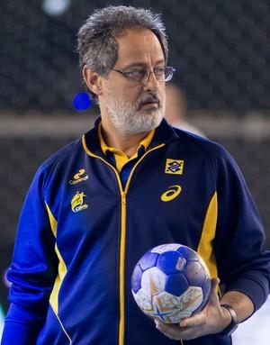 Washington Nunes técnico seleção brasileira masculina handebol (Foto: Cinara Piccolo/Photo&Grafia)