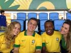 Famosos torcem pelo Brasil na final da Copa das Confederações
