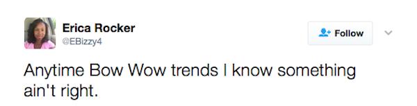 Uma das críticas feitas a Bow Wow em meio à confusão envolvendo Donald Trump e Snoop Dogg (Foto: Twitter)