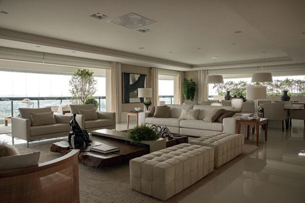 Debora aguiar casa vogue decoradores for Sala de estar lujosa